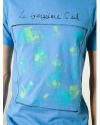 Paul Smith - Blue 'Le Troisième Œil' Print T-Shirt for Men - Lyst