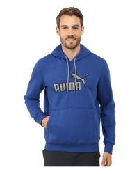 PUMA | Blue Hoodie for Men | Lyst