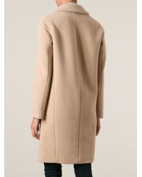Dondup | Natural Classic Fitted Coat | Lyst