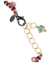 Erickson Beamon | Orange Fashion Tribe Gold-plated Swarovski Crystal Necklace | Lyst