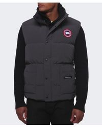 Canada Goose | Gray Freestyle Gilet for Men | Lyst
