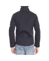 Stone Island - Blue Down Jacket for Men - Lyst