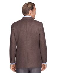 Brooks Brothers | Brown Madison Fit Tic Sport Coat for Men | Lyst