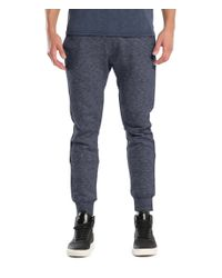Michael Stars | Blue Brush Loopback Terry Jogger | Lyst