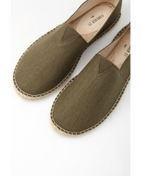 Forever 21 | Green Canvas Espadrille Slip-ons for Men | Lyst