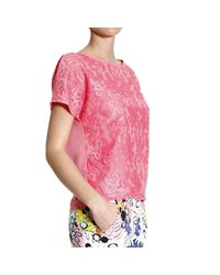 Pinko | Pink Top | Lyst
