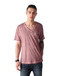 DIESEL - Pink T-orthos for Men - Lyst