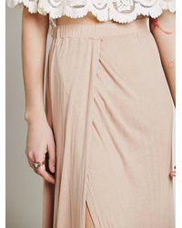 Free People | Natural Fp Beach Womens Solstice Skirt | Lyst