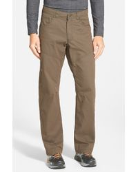 Arc'teryx - Brown 'bastion' Relaxed Fit Canvas Pants for Men - Lyst