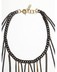 Free People - Metallic Ventura Body Chain - Lyst