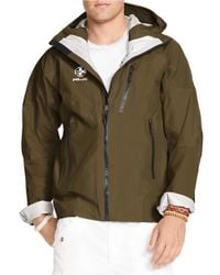 Polo Ralph Lauren | Green Rlx Ripstop Nylon Windbreaker for Men | Lyst