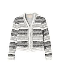 Rebecca Taylor | Black Artisan Tweed Jacket | Lyst