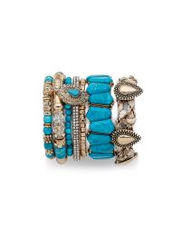 Samantha Wills | Green Southern Sun Bracelet Set - Turquoise | Lyst
