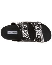 Steve Madden - Black Sparta Sandals - Lyst