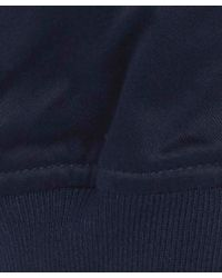 Paul Smith | Blue Navy Cotton Bomber Jacket for Men | Lyst