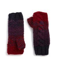 Genie by Eugenia Kim - Purple Carlie Ombre Fingerless Gloves - Lyst