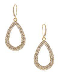 ABS By Allen Schwartz | Blue Seaglass Brights Pavé Drop Earrings | Lyst