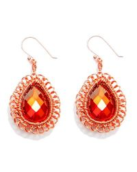 Nakamol | Multicolor Crystaldrop Earrings | Lyst
