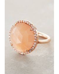 Indulgems | Orange Rosaline Ring | Lyst