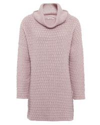 Barbour | Pink Barlett Wool Jumper | Lyst