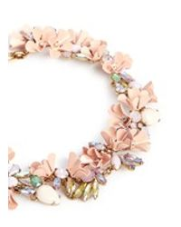 J.Crew - Multicolor Mardi Gras Necklace - Lyst
