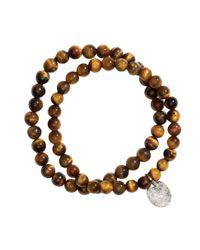 H&M - Brown 2-Pack Bracelets for Men - Lyst