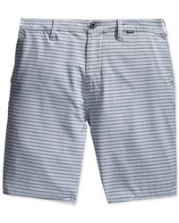 Hurley | Gray Lindon Hybrid Shorts for Men | Lyst