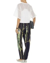 3.1 Phillip Lim - White Cotton-Gauze Top - Lyst