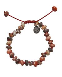 Joseph Brooks | Brown River Jasper Bracelet for Men | Lyst