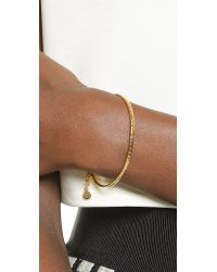 Gorjana - Metallic Taner Loop Chain Bracelet - Gold - Lyst