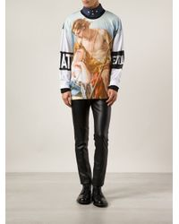 Vivienne Westwood - White Renaissance Painting Graphic Tshirt for Men - Lyst