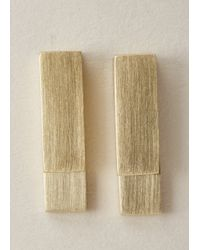 Ming Yu Wang | Metallic Brass Key Earrings | Lyst