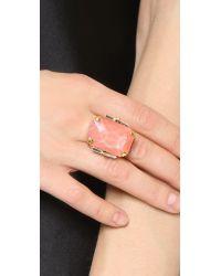 Erickson Beamon - Cocktail Ring - Pink - Lyst