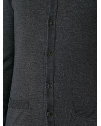 Dolce & Gabbana - Gray V-Neck Cardigan for Men - Lyst