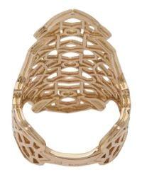 Repossi - Metallic Cut-out Ring - Lyst