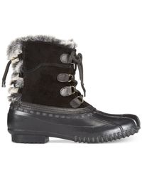 Tommy Hilfiger | Black Rellenna Cold Weather Boots | Lyst