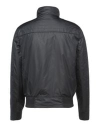BOSS Green - Black Regular-fit Leather Jacket With A Fine Grain: 'c-jordes' for Men - Lyst