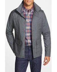 Kane & Unke | Blue Trim Fit Military Jacket for Men | Lyst