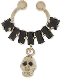 Givenchy | Black Skull Clip-on Septum Ring | Lyst