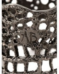 Aurelie Bidermann   Metallic 'vintage Lace' Ring   Lyst