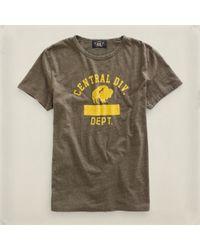RRL | Natural Central Division Tshirt for Men | Lyst