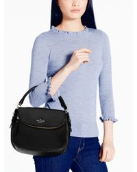 kate spade new york | Black Cobble Hill Small Devin | Lyst