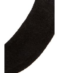 Forever 21 - Black Ribbed Knit Headwrap - Lyst