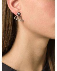 Ca&Lou - Metallic 'pixie' Lobe Stud Earrings - Lyst