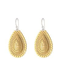 Anna Beck | Metallic Sunburst Teardrop Earrings | Lyst
