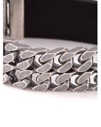Diesel Black Gold - Metallic 'Beat' Bracelet for Men - Lyst