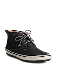 John Varvatos | Black Redding Chukkas for Men | Lyst