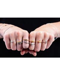 Lee Renee | Metallic Tiny Snake Ring Gold Vermeil | Lyst