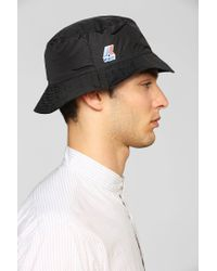 Urban Outfitters - Black Kway Packable Bucket Hat for Men - Lyst