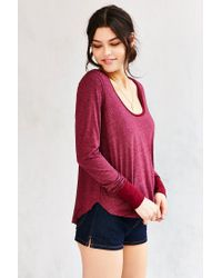 Truly Madly Deeply - Red Tiffany Tunic Top - Lyst